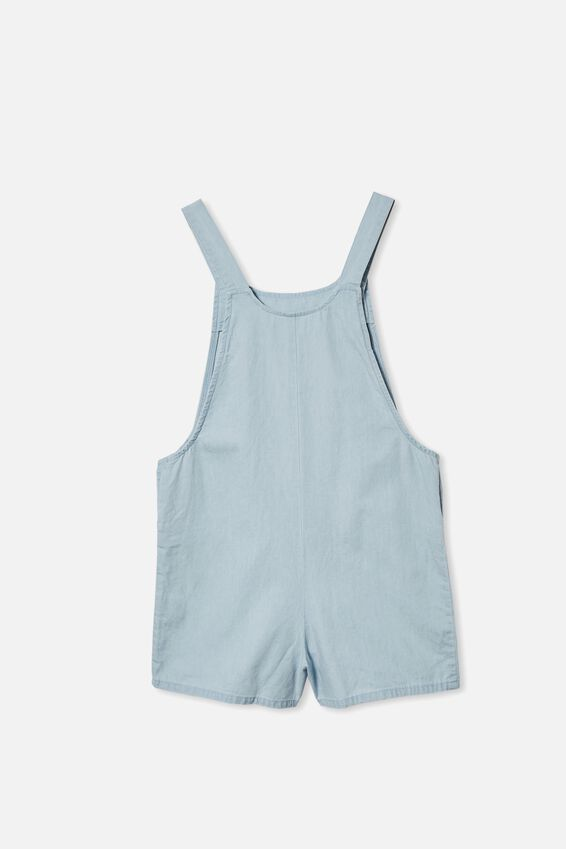 Ava Overall, MID WASH CHAMBRAY