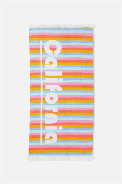 My Beach Towel, RETRO STRIPE