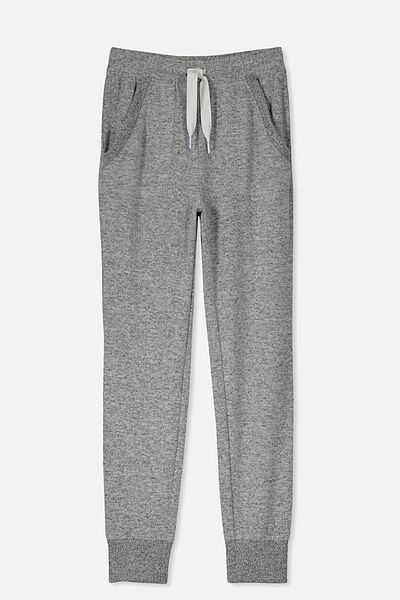 Supersoft Trackpant, GREY MARLE