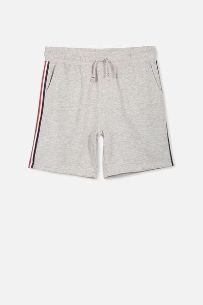 Game Knit Short, GREY MARLE