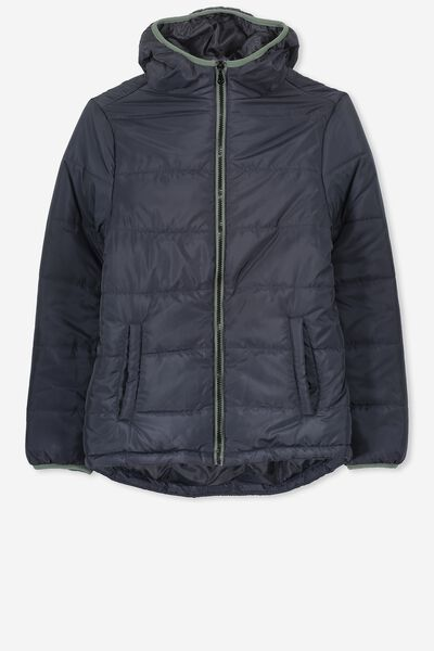 Pete Puffer Jacket, GRAPHITE