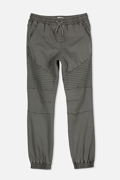 Slouch Denim Pant, CLIVE GREEN