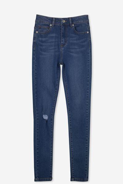 High Rise Skinny Jean, RICH MID INDIGO
