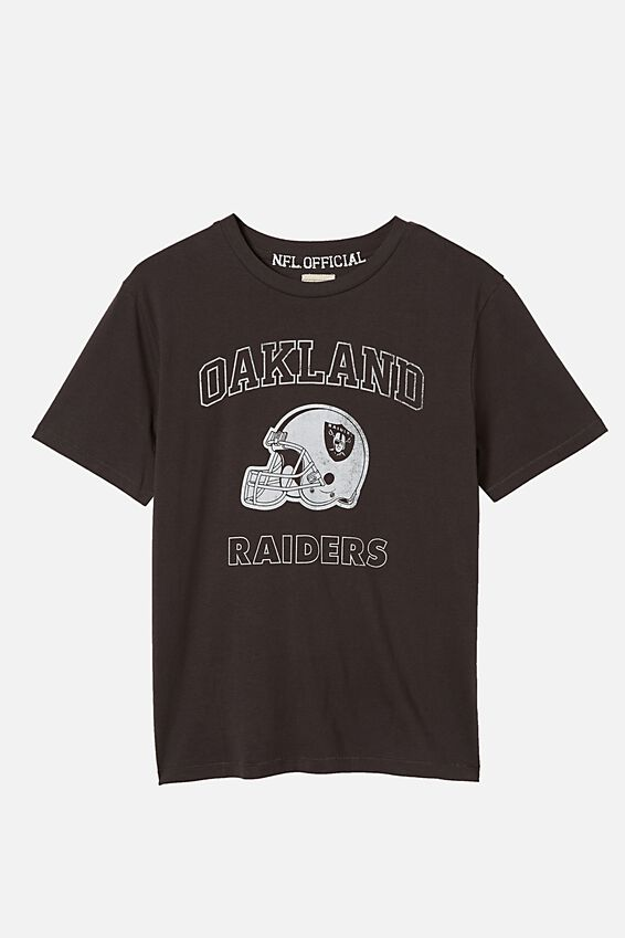 Ash Boys License Tees, LCN NFL RAIDERS HELMET PHANTOM