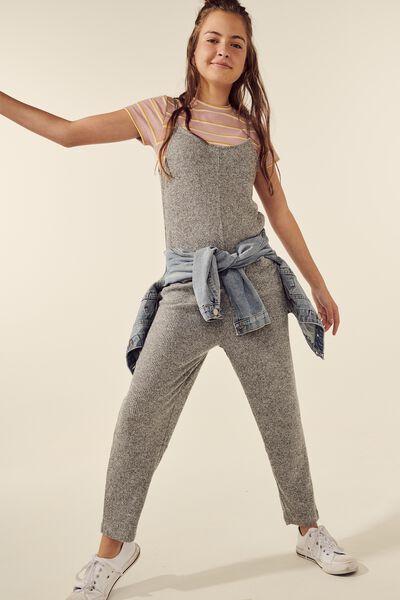 Super Soft Jumpsuit, GREY MARLE