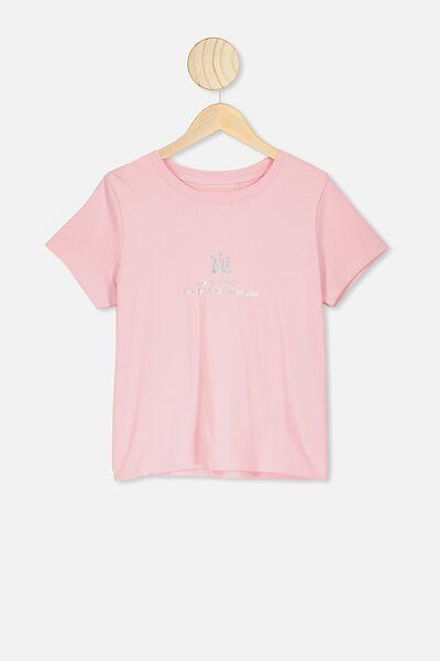 Primrose Classic Tshirt, MARSHMALLOW/CRYSTALS