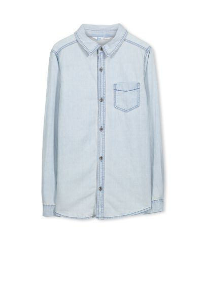 Chuck Ls Shirt, CHAMBRAY