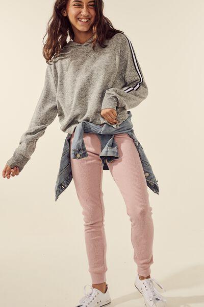 Super Soft Slim Leg Pant, DUSTY ROSE