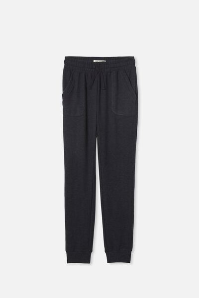 Supersoft Trackpant, NAVY MARLE