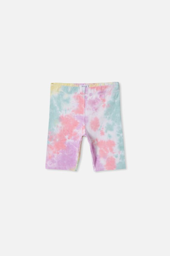 Justine Bike Short, RAINBOW TIE DYE