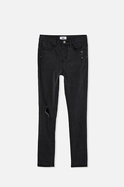 Sally Skinny Jean, BLACK WASH