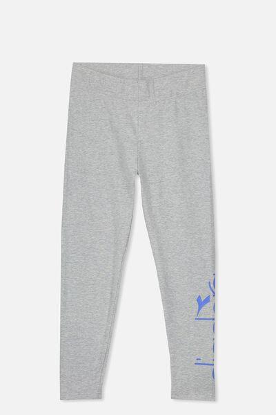 Diadora 7/8 Legging, GREY/DIADORA