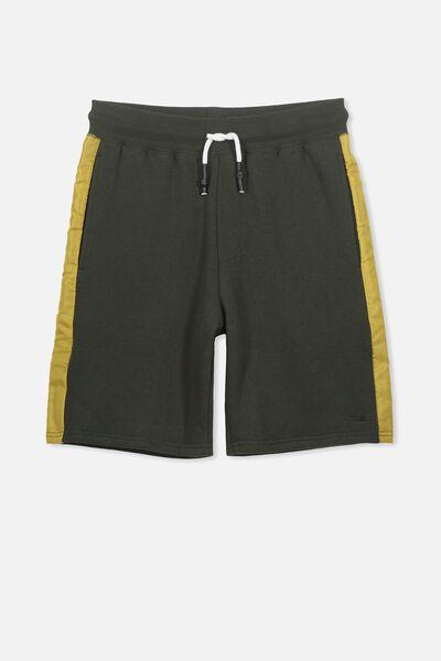 Sport Knit Short, KHAKI/GOLD GLOW