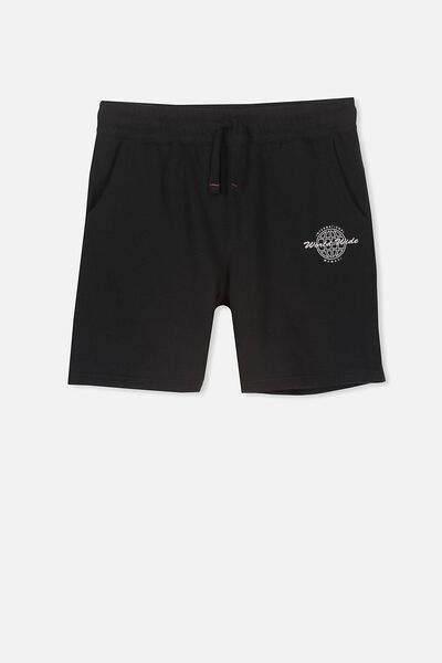 Game Knit Short, BLACK/WORLD WIDE