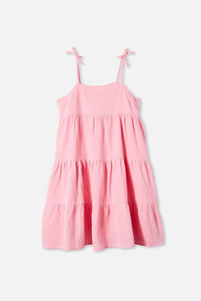 Nicole Sleeveless Dress, CALI PINK