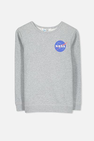 Berni Crew, MID GREY MARLE/NASA