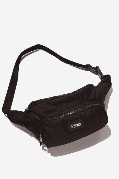Crossbody Sports Bag, BLACK