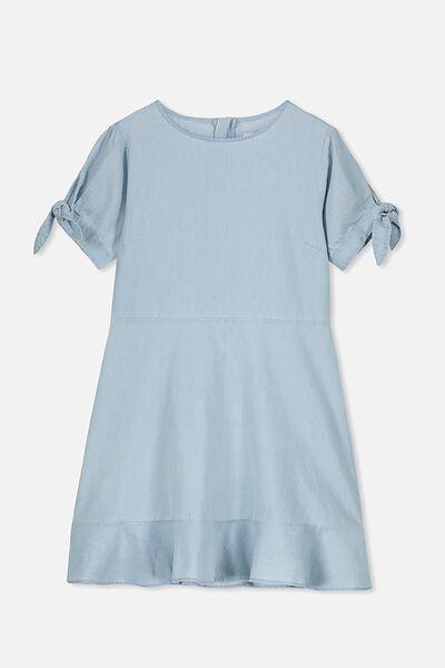Hanna Dress, CHAMBRAY