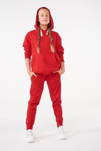 Equal Track Pant, RACING RED