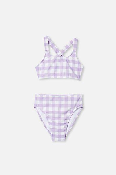 Paloma Bikini, SUMMER VIOLET CHECK