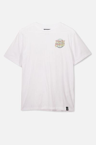 Boys License Short Sleeve Tee, LCN MT WHITE/BIGGIE SMALLS