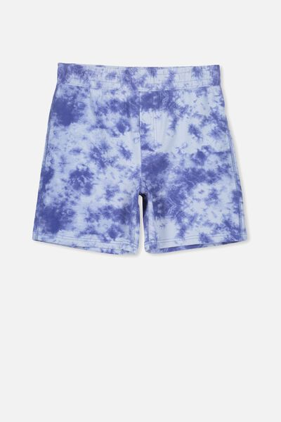Jarvis Sleep Short, BLUE FOG/TIE DYE
