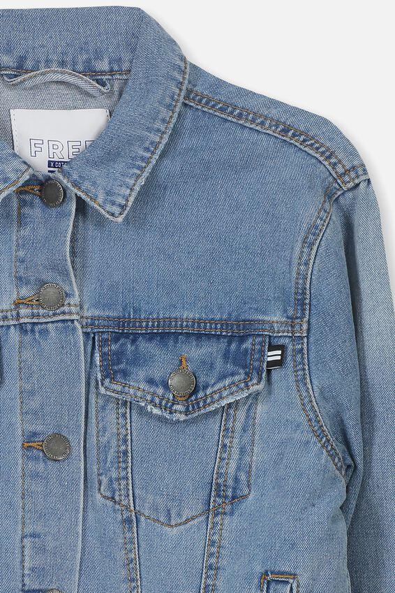 Equal Denim Jacket, ORIGINAL WASH
