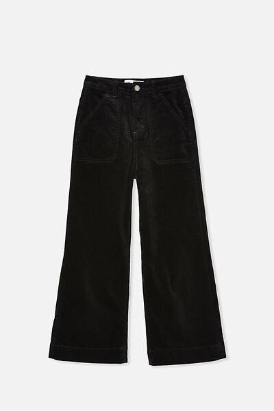 Elka Wide Leg Jean, BLACK CORD
