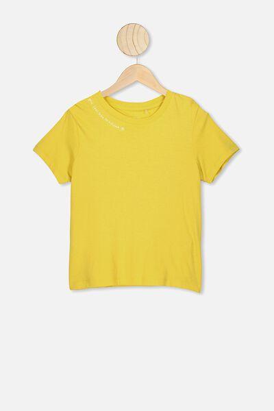 Primrose Classic Tshirt, SUNSHINE/YOU FEEL LIKE SUNSHINE