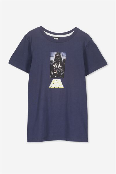 Louis Licence Tee, WASHED NAVY/LCN STAR WARS POINT