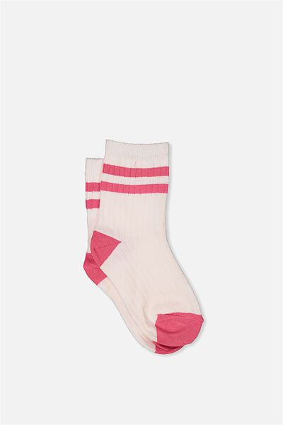 Free Fashion Socks, PINK MARSHMELLOW