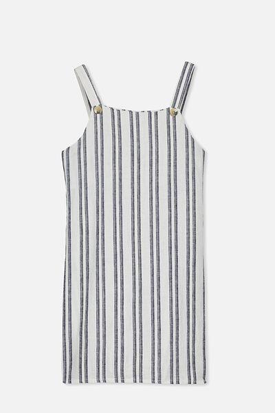 Pini Dress, NAVY STRIPE