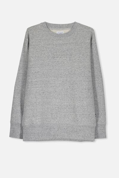 Equal Crew Neck Jumper, NEP GREY MARLE