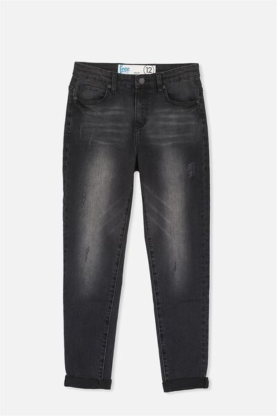 Slim Leg Jean, WASHED BLACK