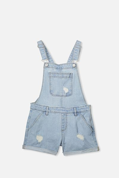 Denim Shortall, SPRING INDIGO/ZIP
