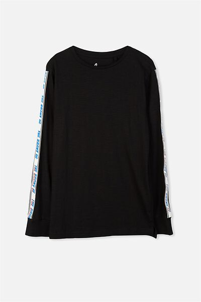 Bobby Long Sleeve Tee, BLACK BRONX 86