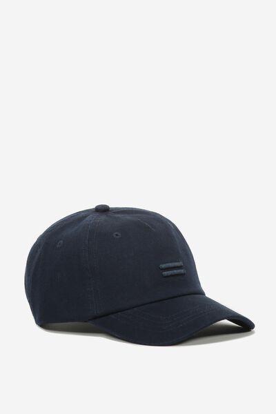 Equal Cap, NAVY WASH