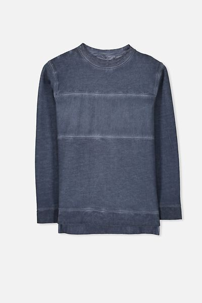 Cal Crew, WASHED BLUE/PANEL