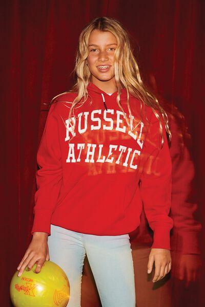 Russell Hoodie, LCN RUS/ARCH/TRUE RED