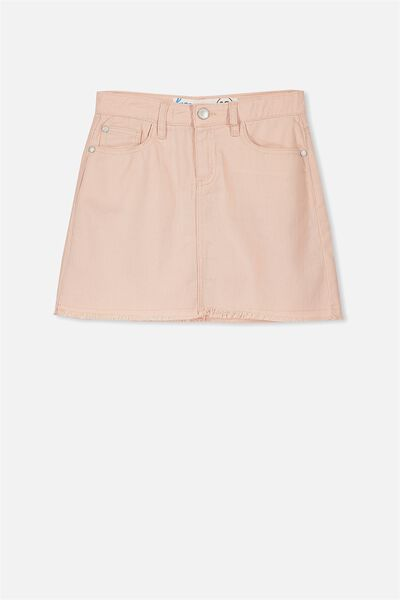 Avril Frayed Hem Skirt, MUSK
