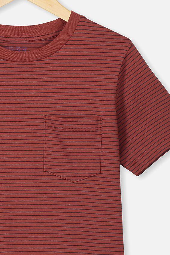 Free Core Short Sleeve Tee, HENNA/PHANTOM YDS