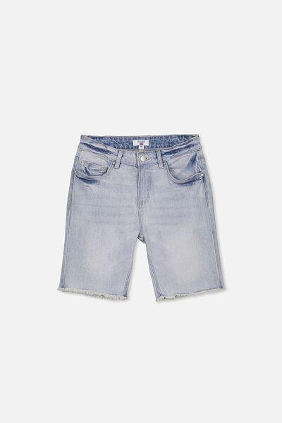 Classic Denim Short, FADED BLUE