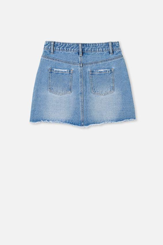Florence Denim Skirt, WEEKEND WASH
