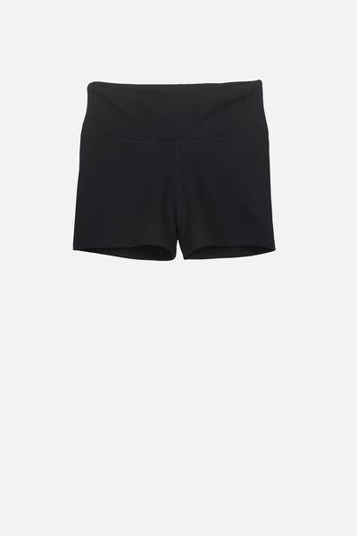 Gym Short, BLACK