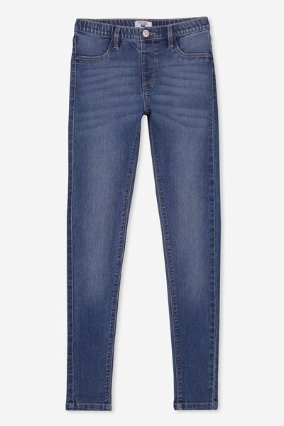Jegging, MID BLUE
