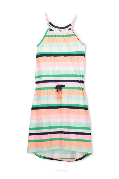 Fleur Dress, TROPICAL STRIPE