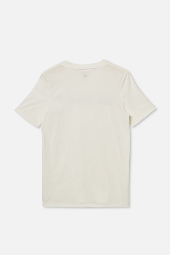 Free Boys Skater Short Sleeve Tee, RETRO WHITE/SORRY
