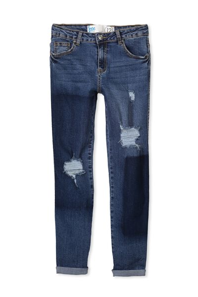 Molly Slouch Jean, PATCHED BLUES