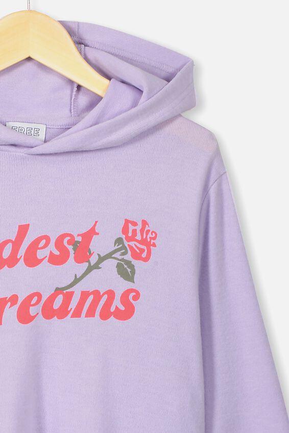 Super Soft Hoodie, VINTAGE LILAC MARLE/WILDEST DREAMS