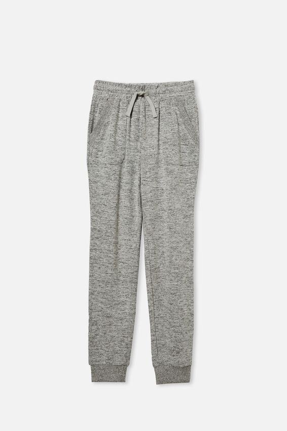 Super Soft Trackpant, GREY MARLE